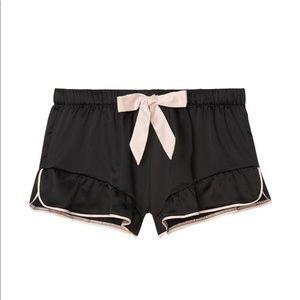 Victoria secret ruffle sleep shorts